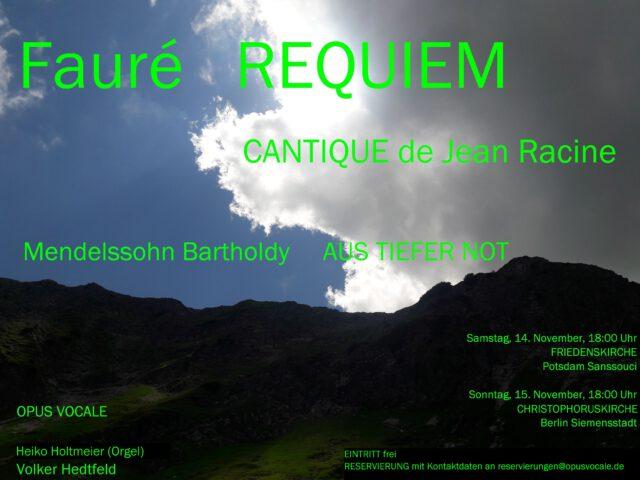 Mendelssohn/Fauré